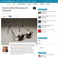 Hand-crafted Steampunk Eyewear