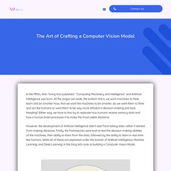 The Art of Crafting a Computer Vision Model