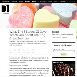 What The 3 Stages Of Love Teach You About Crafting Great Services
