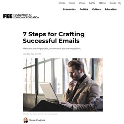7 Steps for Crafting Successful Emails