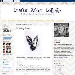 DIY Bling Shoes