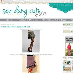 Charlotte Russe Inspired Skirt