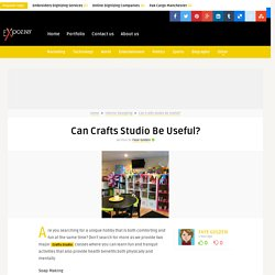 Can Crafts Studio Be Useful?