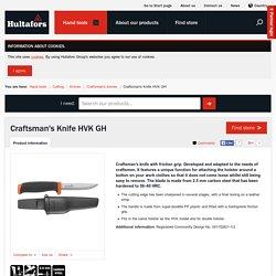 Craftsman's Knife HVK GH — Hultafors