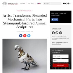 Metal Craftsman Recreates Animals as Moving Steampunk Sculptures