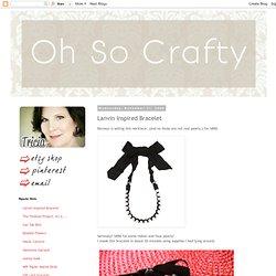 Lanvin Inspired Bracelet