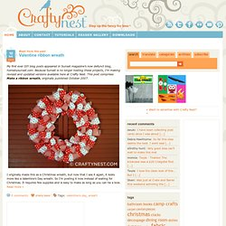 Crafty Nest - StumbleUpon