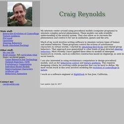 Craig W. Reynolds (AI)