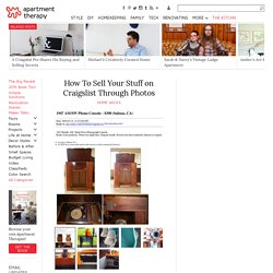 How To Sell Your Stuff on Craigslist Through Photos — Home Hacks