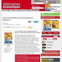 Faut-il craindre les investisseurs chinois?