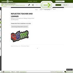 Cramlington Learning Village « Reflective Teacher And Learner