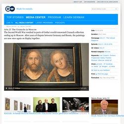 Choc culturel après Hitler. Le peintre de la nouvelle religion, jamais vu par le grand soviet orthodoxe du musée Pouchkine.