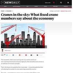 The crane index: what cranes say aboutr Australia's economy