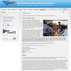 Hiroshima International School