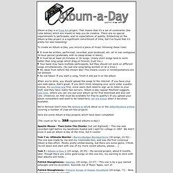 Crap Art: Album-A-Day
