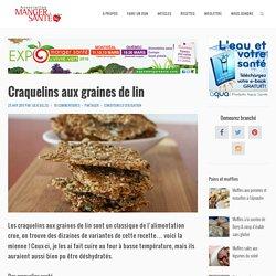 Craquelins aux graines de lin