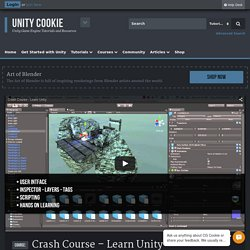 Crash Course - Learn Unity - Unity Cookie