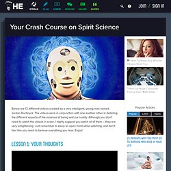 Your Crash Course on Spirit Science