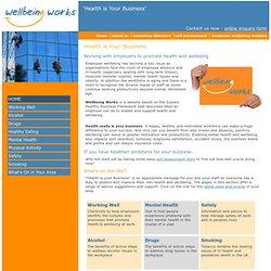 Crawley Wellbeing - Work