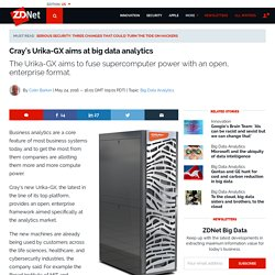 Cray's Urika-GX aims at big data analytics