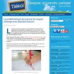tenue du crayon: échange avec Danièle Dumont