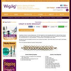 Crazy 8 Wire Bracelet