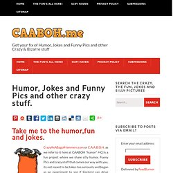 Humor, Fun, laughs and downright Crazy goings on! - Crazy as a Bag of Hammers - Crazy