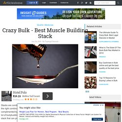 Crazy Bulk - Best Muscle Building Stack