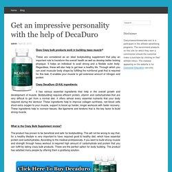 Decaduro (d-kal) Reviews