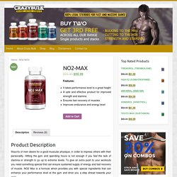 CrazyBulk NO2 Max Coupon Codes