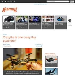 Crazyflie is one crazy-tiny quadrotor