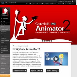 CrazyTalk Animator 2 - 2D Animation Software & Cartoon Maker