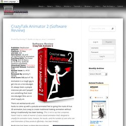 CrazyTalk Animator 2 (Software Review)