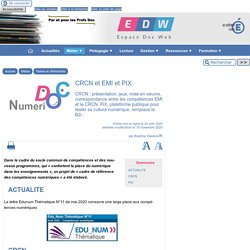 PIX, CRCN et EMI