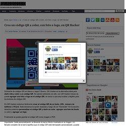 Crea un código QR a color, con foto o logo, en QR Hacker