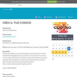 CREA IL TUO CODICE! (Italy)