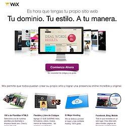 Web - Construye tu propio sitio web sin conocimientos