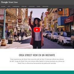 Crea Street View en un instante – GoogleStreetView