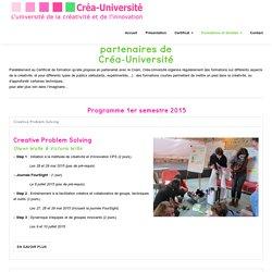 Créa-Université – Formations