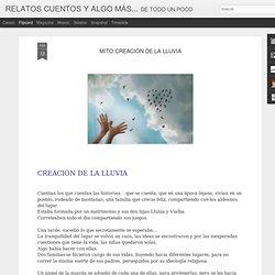 RELATOS CUENTOS Y ALGO MÁS...: MITO:CREACIÓN DE LA LLUVIA