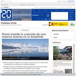 Rusia impide la creación de una reserva marina en la Antártida