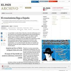 El creacionismo llega a España