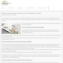 CréaCours lance la deuxième édition du MOOC décoration d'intérieur