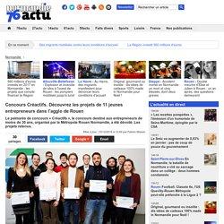 Concours Créactifs. Découvrez les projets de 11 jeunes entrepreneurs dans l'agglo de Rouen