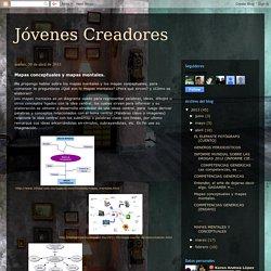 Jóvenes Creadores: Mapas conceptuales y mapas mentales.
