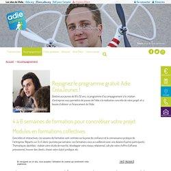 Adie CréaJeunes, création d'entreprise pour les jeunes