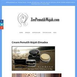 Cream Pemutih Wajah Elmadea – Zee Cream Pemutih Wajah BPOM