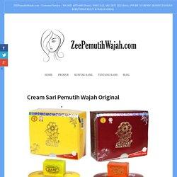 Cream Sari Pemutih Wajah Original – Zee Cream Pemutih Wajah BPOM