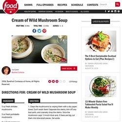 Cream of Wild Mushroom Soup Recipes
