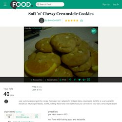 Soft n Chewy Creamsicle Cookies Recipe